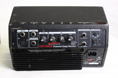 Nady Audio PM-200A Powered Stage Monitor (Lot of 4) Back1