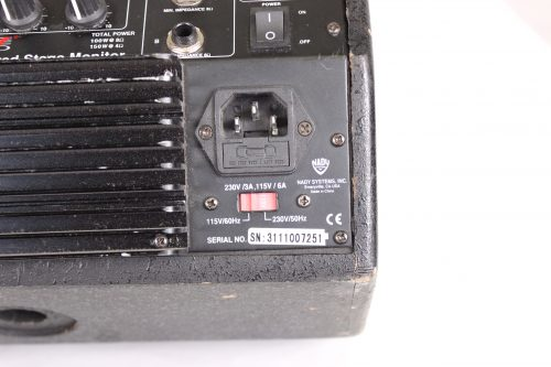Nady Audio PM-200A Powered Stage Monitor (Lot of 4) Power