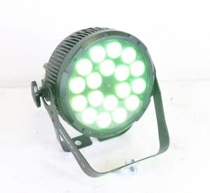 Chauvet - COLORDash Par-Quad 18 - RGBA LED Lights (0 Fixture Hours) - GREEN