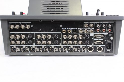 Panasonic AG-MX70 Digital AV Mixer - BACK2