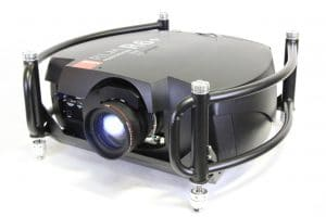 Barco RLM R6+ Performer Projector w/ Metal Frame & Road Case Main