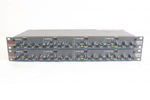 dbx 1074 QuadGate 4-Channel Noise Gate with Sidechain Input and Independent Internal Frequency Filter (LOT OF 2) main