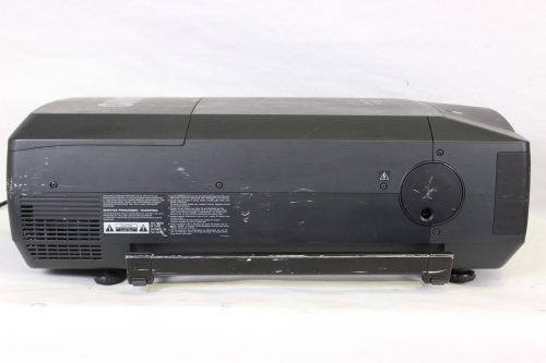 Sanyo PLC-XF46N Multimedia Projector w/ Lens & Road Case - 729 LAMP HOURS - SIDE1