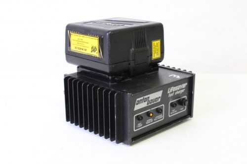 ANTON BAUER - Life Saver Fast Charger and Propac 14 Camera Battery - Fast Charger and Camera Battery - BACK1