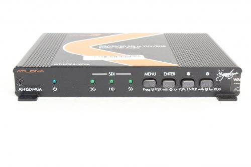 ATLONA SDI to PC/HD Scaler with Audio - FRONT