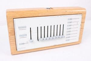 Strand Lighting - Vintage Wooden Lighting Console Dimmer - TOP