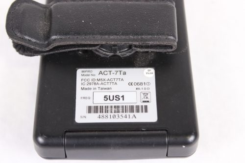 ACT-7Ta Wideband bodypack Transmitter LOT OF 3 - FOR PARTS - FREQ (2) 5US1; (1) 5US2 - LABEL