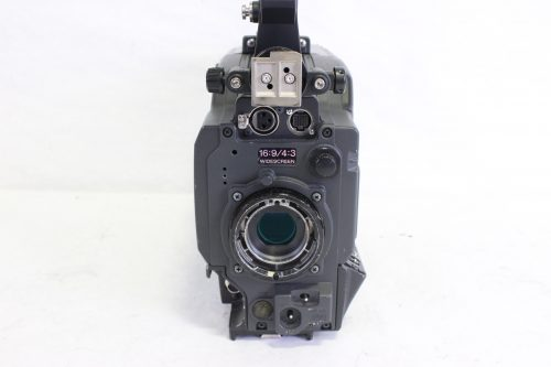 Sony DXC-D55WS Camera w/ RCP-D50 + CCU-TX50 + DXF-51 & DXF-801 Viewfinder Front