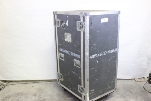 "34x26x56"" ATA Rack Case 25 RU w/ Wheels & 2 Tables/Doors Main"