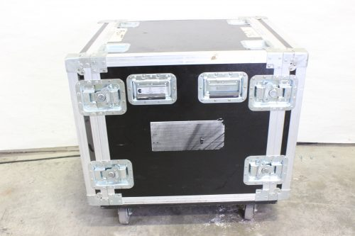 "Nelson Case 31x24x29"" 10 RU ATA Amp Rack Case w/ Wheels Side"