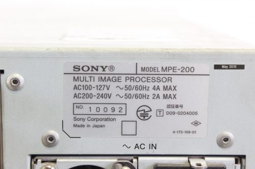 sony-mpe-200-multi-image-processor-lot-of-7-for-parts-not-tested LABEL