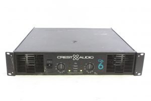 CREST AUDIO CA6 CA SERIES Power Amplifier - MAIN