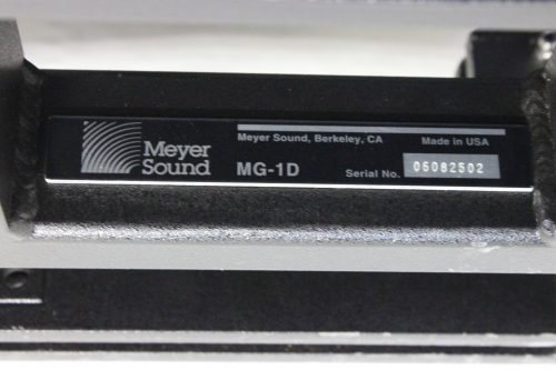 Meyer Sound M2D Self-Powered Speaker (Lot of 8) & MG-1D Rigging + Slings w/ Cases