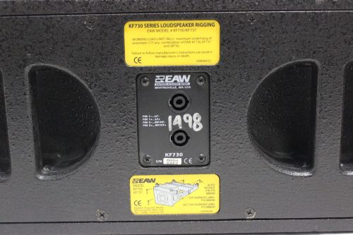 EAW KF730 Compact Line Array Speaker Label