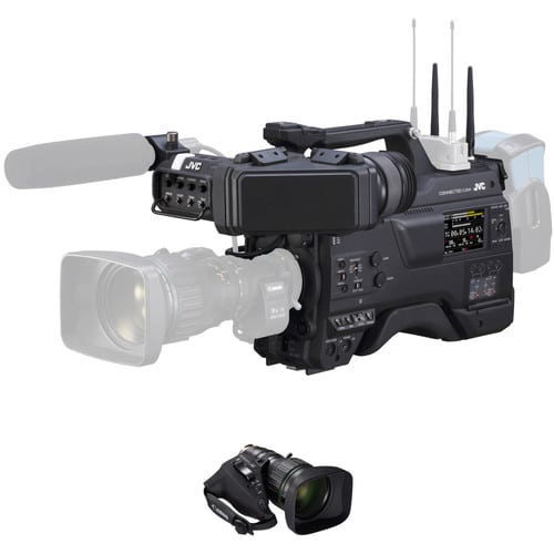 JVC GY-HC900C20 CONNECTED CAM 2/3-IN BROADCAST CAMCORDER W/CANON 20X LENS MAIN