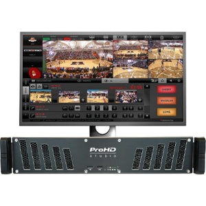 JVC KM-IP4000 ProHD STUDIO 4000 - LIVE PRODUCTION AND STREAMING STUDIO Front