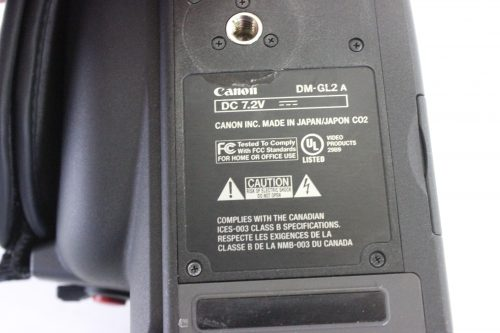 canon-gl2-sd-camera-for-parts label1