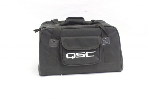 """QSC K8 - 105° 1000 W active 8"""" 2-way loudspeaker system with Soft Carrying Case case"""