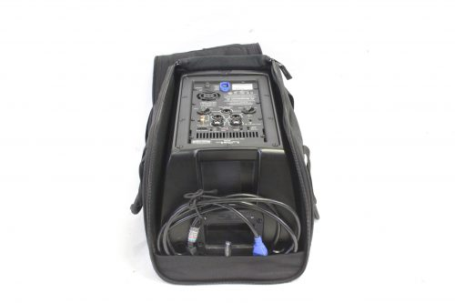 """QSC K8 - 105° 1000 W active 8"""" 2-way loudspeaker system with Soft Carrying Case top"""
