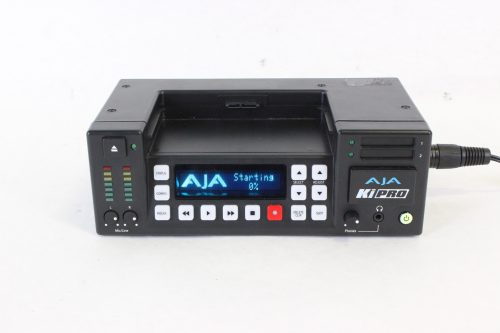 AJA KiPro With Power Supply & Case - front