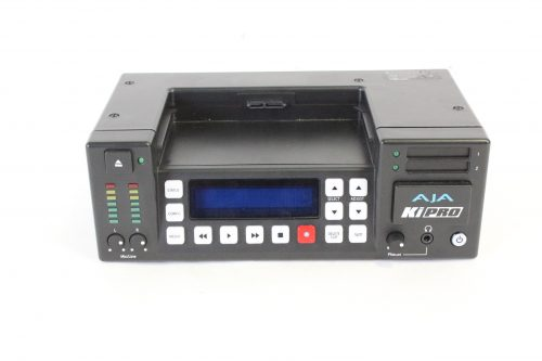 AJA KiPro With Power Supply & Case top