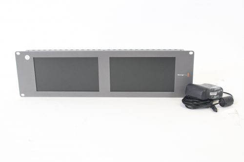 """Blackmagic Design HDL-SMTVDUO2 SmartView Duo Dual 8"""" LCD Monitors w/Power Supply MAIN"""