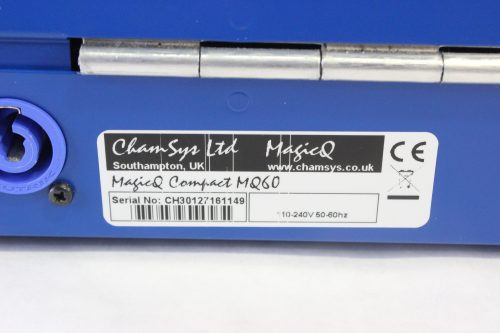 chamsys-magicq-mq60-compact-lighting-console-in-chamsys-flight-case label