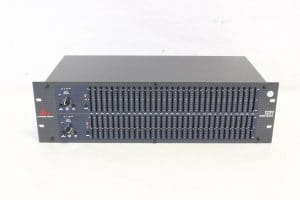 dbx 1231 Graphic Equalizer - cover