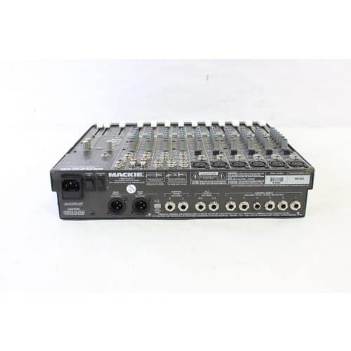 Mackie 1402-VLZ PRO Mixer with Hard Case front3