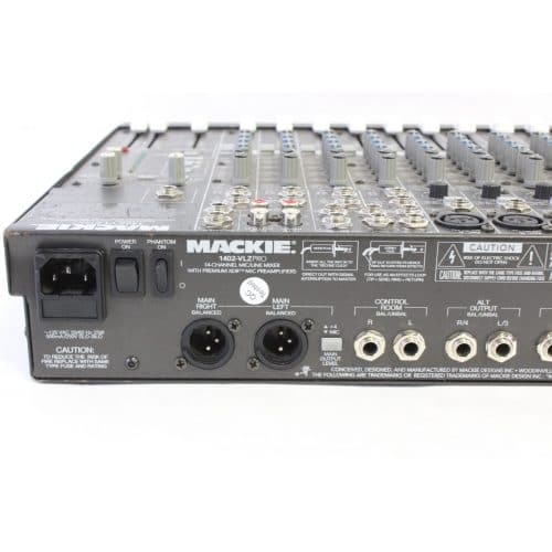 Mackie 1402-VLZ PRO Mixer with Hard Case front1