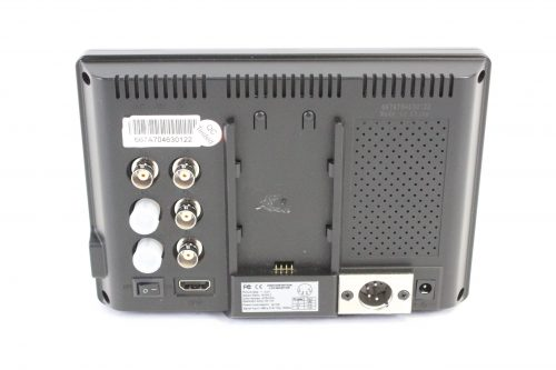 """Lilliput 667GL-70NP/H/Y - 7"""" HDMI field monitor with case back"""