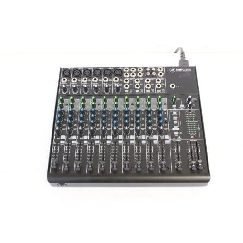 Mackie 1402 VLZ4 14 Channel Mic/Line Mixer with Onyx Preamplifiers w/ Soft Mackie Branded Travel Bag - front