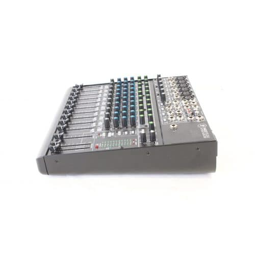Mackie 1402 VLZ4 14 Channel Mic/Line Mixer with Onyx Preamplifiers w/ Soft Mackie Branded Travel Bag side1