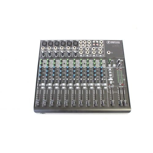Mackie 1402 VLZ4 14 Channel Mic/Line Mixer with Onyx Preamplifiers w/ Soft Mackie Branded Travel Bag main