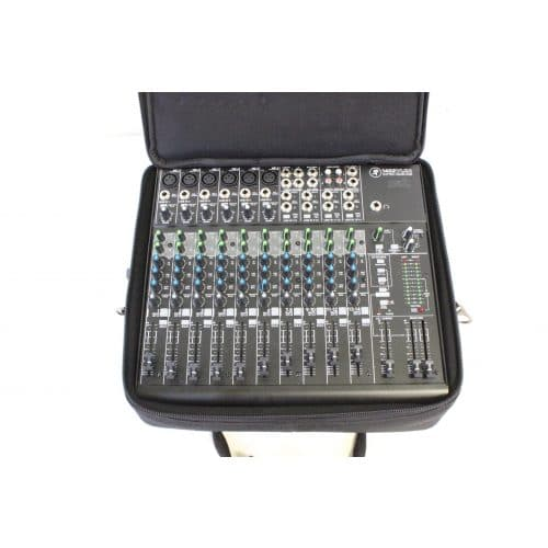 Mackie 1402 VLZ4 14 Channel Mic/Line Mixer with Onyx Preamplifiers w/ Soft Mackie Branded Travel Bag bag2