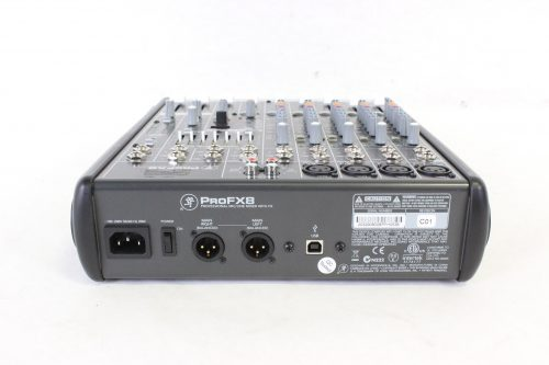 Mackie ProFX8 Professional Compact Mixer - SIDE