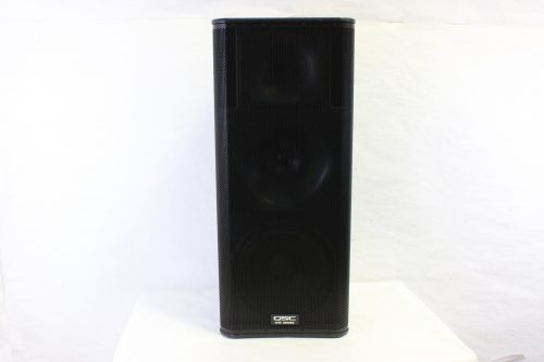qsc-kw153-1000w-15-inch-3-way-powered-speaker-with-soft-cover front