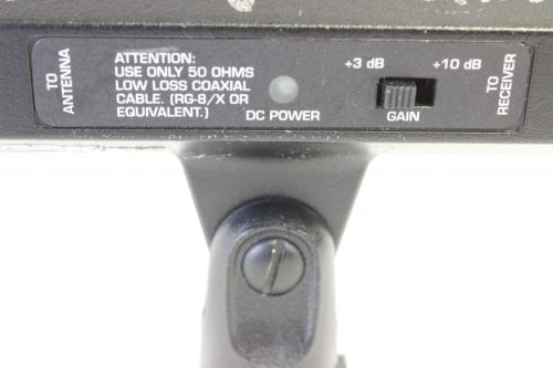 Shure UA830WB Wideband Active Remote Antenna Amplifier (470-900 MHz) side2