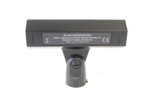 Shure UA834WB In-Line Antenna Amplifier for Remote Mounting (470-900 MHz) label2