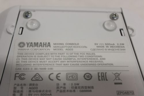 yamaha-ag03-3-channel-mixer-and-usb-audio-interface back1