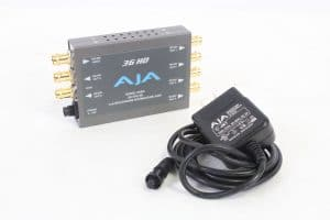 AJA 3GDA 3G/HD/SD 1x6 Reclocking Distribution Amp - cover