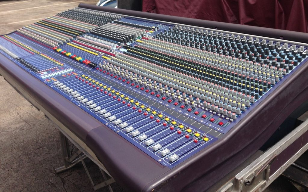 Midas Heritage 3000 52-ch. (upgraded) console Main