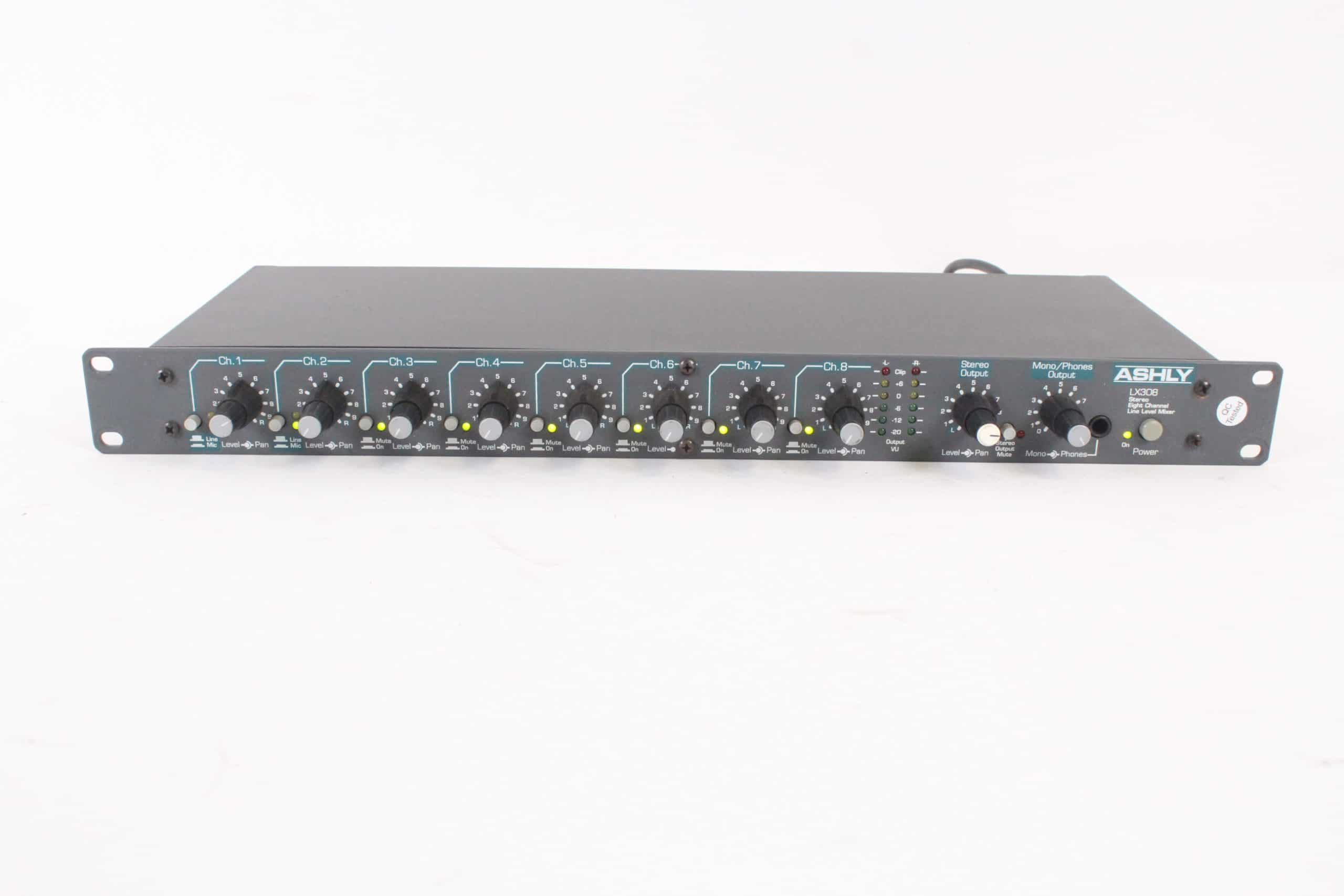 ashly-lx308-stereo-eight-channel-line-level-mixer main