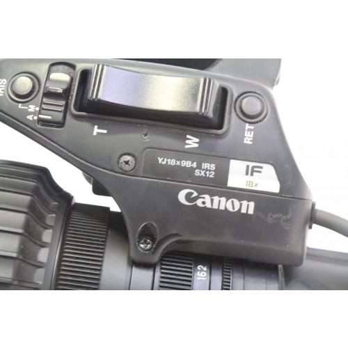 canon-yj18x9b4-irs-sx12-if-18x-bctv-zoom-lens side 6