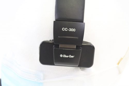 LOWER BAND FRONT VIEW Clear-Com CC-300-X4:Single Ear Headset