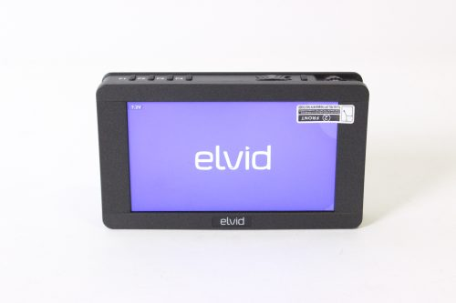 elvid-5-rvm-5p-hdr-rigvision-hdr-on-camera-touchscreen-monitor-lcd-w-charger-batteries-case front