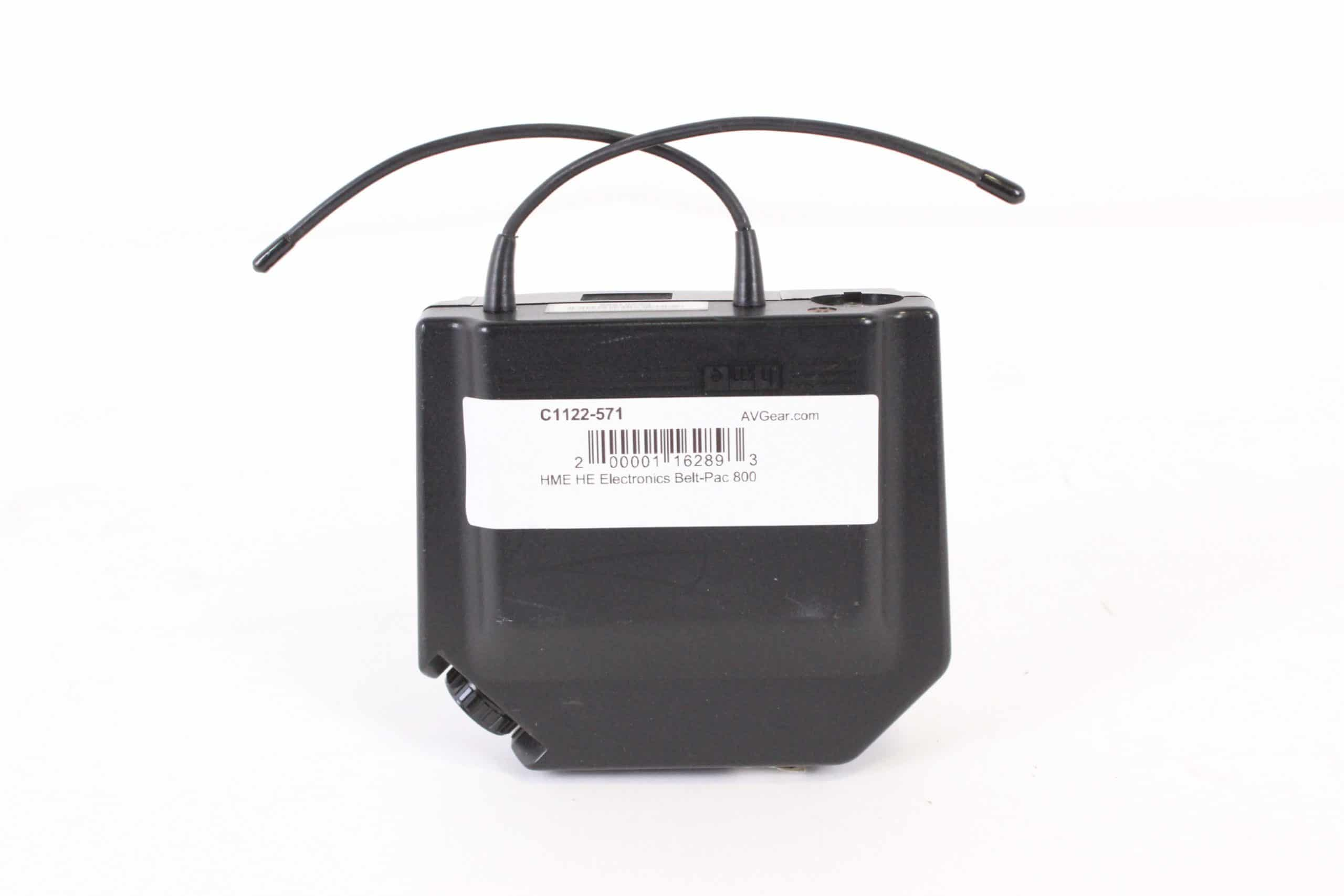 hme-he-electronics-belt-pac-800 front