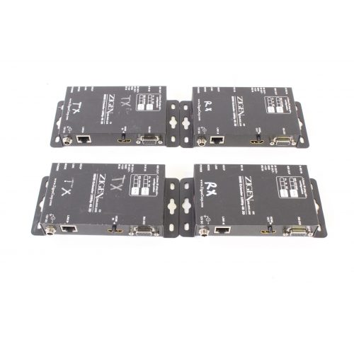 zigen-hdmi-extender-kit-w-2-pair-hvx-100-receivers-and-transmitters-for-parts side2