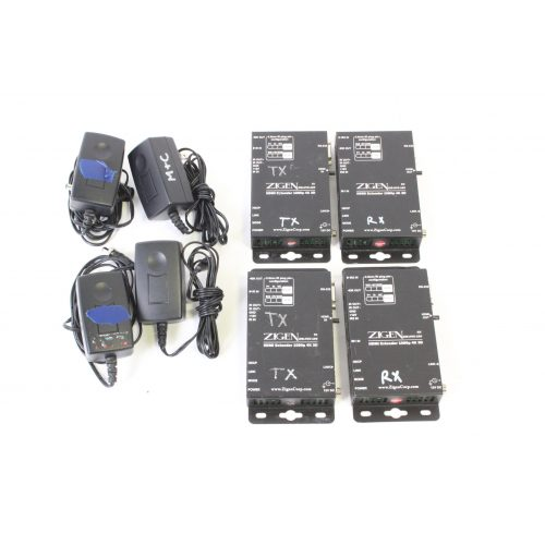 zigen-hdmi-extender-kit-w-2-pair-hvx-100-receivers-and-transmitters-for-parts main