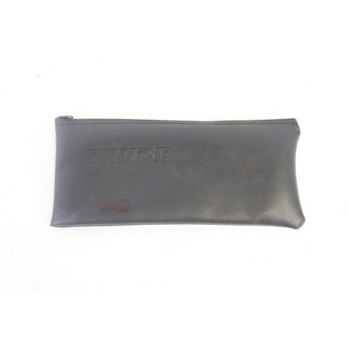 Shure SM57 Dynamic Microphone in Pouch C1122-650 pouch